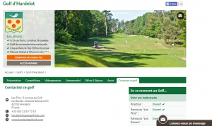 Golf Hardelot Web